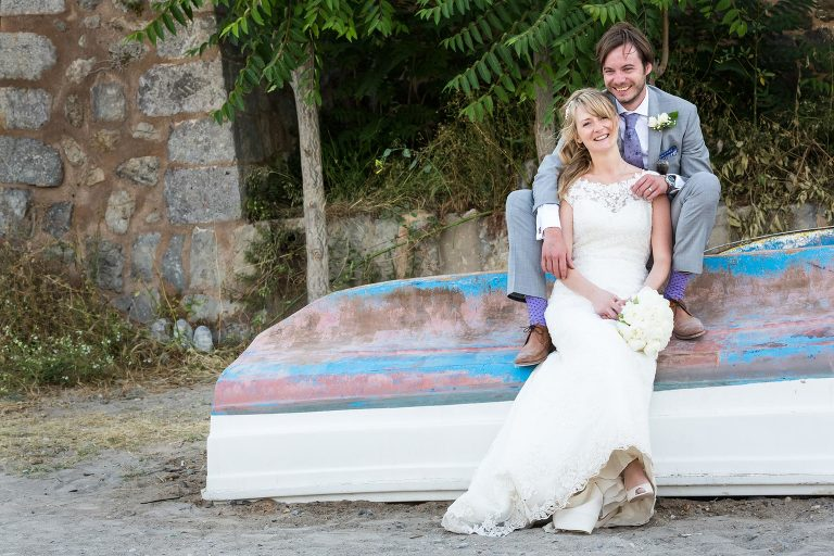"""""""on the boat"""" by Mallorca wedding photographer in Port de Soller"""