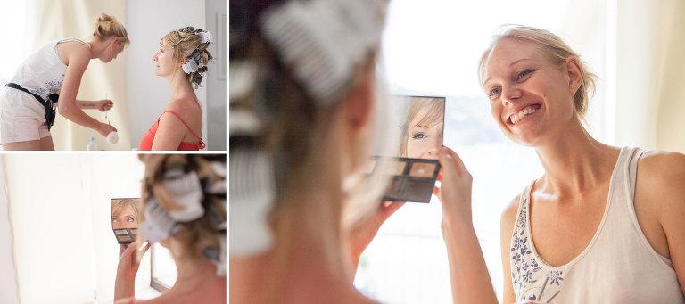 """""""Make-up check"""" by Mallorca wedding photographer in Port de Soller"""
