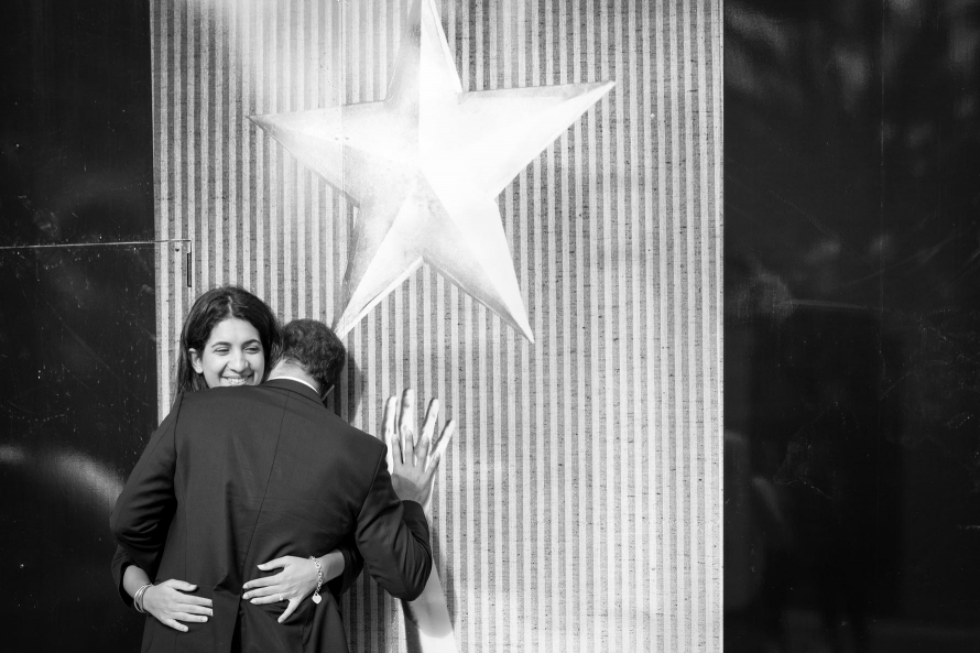 Cuddling under the star
