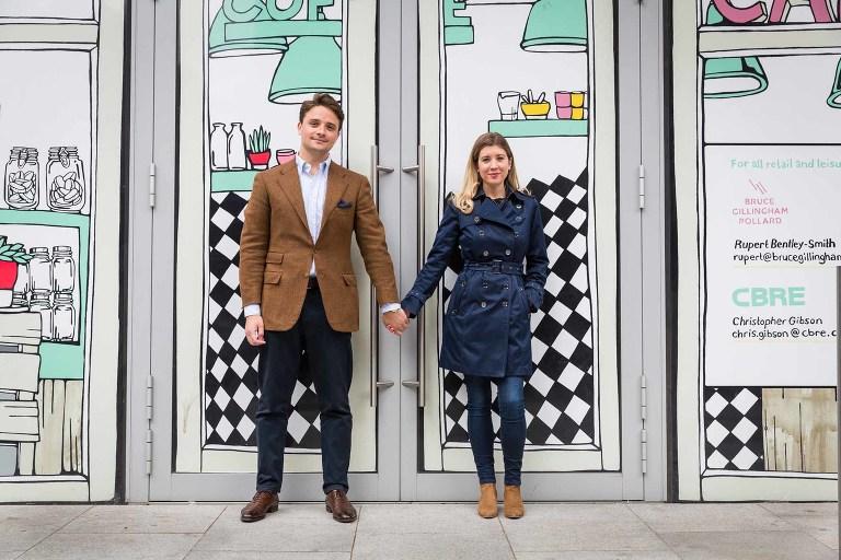London engagement photoshoot by Graham Warrellow
